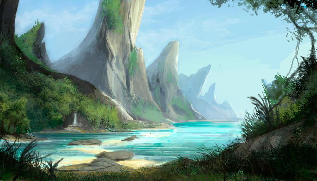 Alien Beach by axiom-concepts