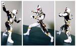 Power Rangers Legacy Collection- White Dino Ranger by ULTIMATEbudokai3
