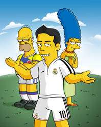 James Rodriguez Simpsons by edwheeler