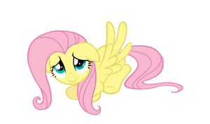 Everything will be fine, Fluttershy by AmethystHorn