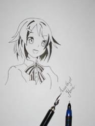 Manga girl by AmethystHorn