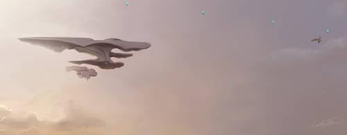 Spaceship by AmethystHorn