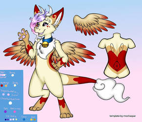 Reina The Dutch angel dragon by luna-howltothemoon