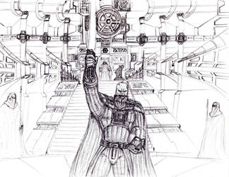 Vader Triumphant by KronnangDunn