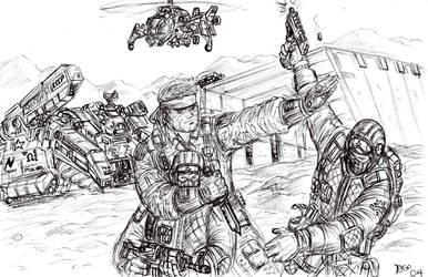 Metal Gear Solid 3 Fan Art by KronnangDunn