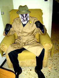 Rorschach Cosplay by KronnangDunn