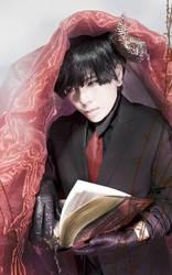 Osomatsu-san coaplay - Osomatsu Matsuno devil by AliceInmetalland