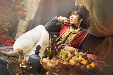 Black Butler cosplay - The prince Soma by AliceInmetalland