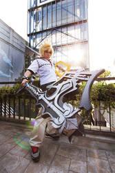 Kingdom Hearts: Roxas cosplay by AliceInmetalland