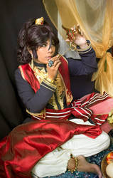 Black Butler cosplay - The prince Soma cosplay by AliceInmetalland