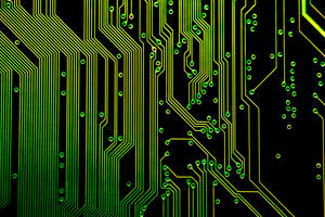Electronic Circuits Background by creativity103