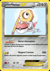 Meltan EX by MichaelCipher