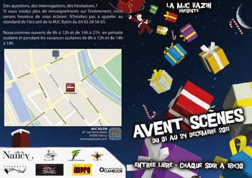 Avent Scenes 2011 - Depliant Recto by CuberToy