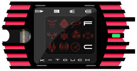 Decade K-Touch by CuberToy