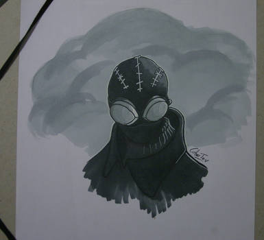 Spider-Man Noir  w/ DB Twin Marker by CuberToy