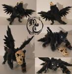 Ravenwolf - Posable Art Doll by MyraethCorax