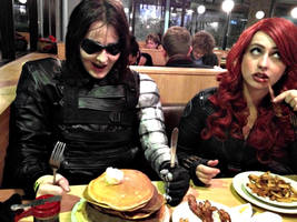 Bucky's Pancake Obsession by LaneDevlin