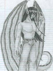 Dominic - Dragon Half-Breed by Alec-Ikiiki