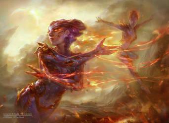 Forgeborn Oreads by Artofryanyee