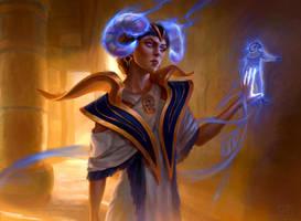 Vizier of Many Faces by Artofryanyee