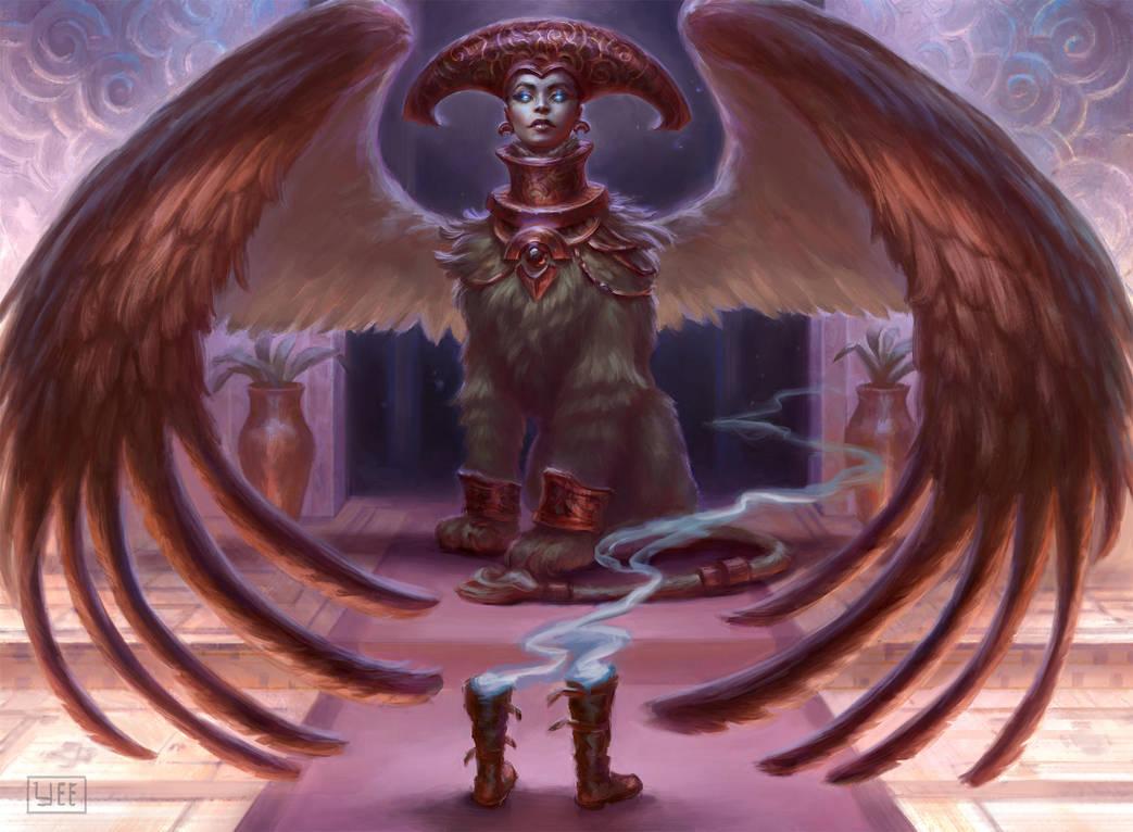 RiddleMaster Sphinx by Artofryanyee