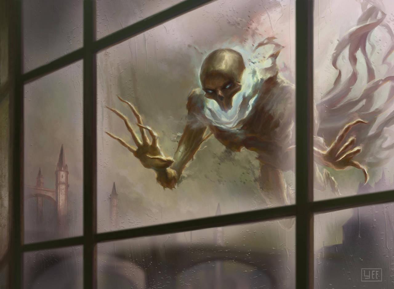 Watcher in the Mist by Artofryanyee