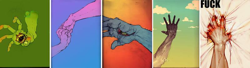hands II by drak