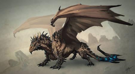 Desert Tyrant by drak
