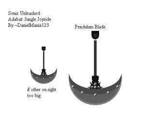 Sonic Unleashed Pendulum Blade CLEAN by DanielMania123