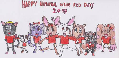 Happy National Wear Red Day! by DanielMania123