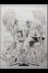 Afro Samurai Resurrection Ink by inkone37