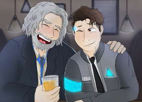 Your buddy to drink with by CipherSnail