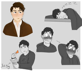 Human Connor's by CipherSnail