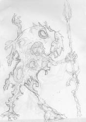 Swamp-Creature by IceRiser