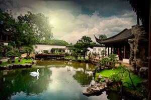 Singapore Chinese Gardens by Reybronx