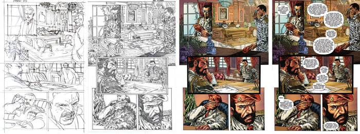 Bionic Man #18 Page 05. by Reybronx