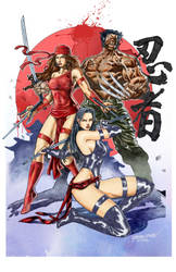 Three Ninjas by Reybronx