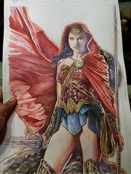 Wonder Woman Commission by Reybronx
