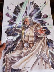 The Last Jedi by Reybronx