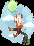YCH: up up and away Kimitsu Fairu by Foxhatart