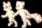 Commission: Couple Chibi by Foxhatart