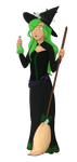 Commission: witch willow by Foxhatart