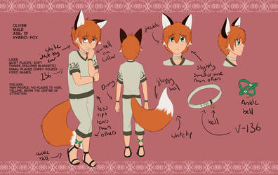 Oliver reference by Foxhatart