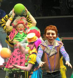 Alfred E Neuman as Ringling Bros Clown by Bill-Angel