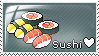 Sushi Love Stamp by Rainbow-Reverse