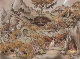 Hobbit by asiapasek