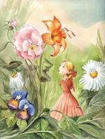 Talking Flowers Again by asiapasek