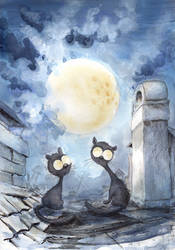 Moon Influence by asiapasek