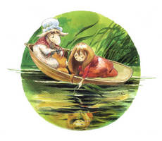 Alice In The Boat by asiapasek