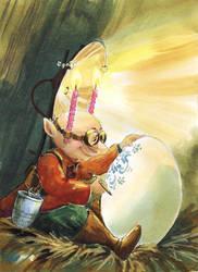 Gnome Miniaturist by asiapasek